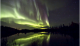 Aurora from geomagnetic storm
