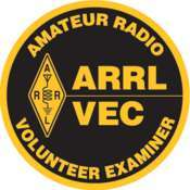 ARRL Volunteer Examiner (VE) Patch - Round
