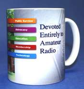 Devoted to Amateur Radio Mug