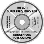 Super Frequency List CD-ROM (2013)