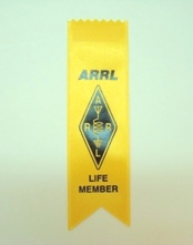 ARRL Life Member Ribbon (set of 25)