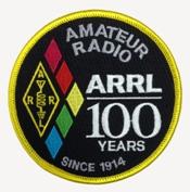 ARRL Centennial Patch