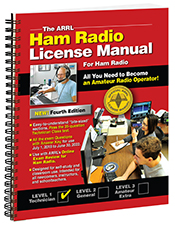 ARRL Ham Radio License Manual 4th Edition (Spiral Bound)