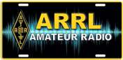 ARRL License Plate