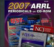 ARRL Periodicals CD-ROM 2007