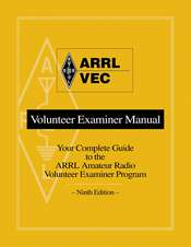 ARRL/VEC Volunteer Examiner Manual