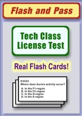 Technician Class Flash Card Set