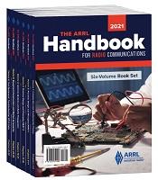 ARRL Handbook 2021 (Six-Volume Book Set)