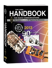 ARRL Handbook 2013 Hardcover Edition