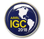 International Grid Chase Pin (2018)