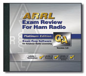 ARRL Exam Review for Ham Radio CD-ROM