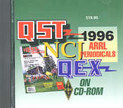 ARRL Periodicals CD-ROM 1996
