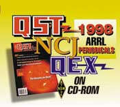ARRL Periodicals CD-ROM 1998