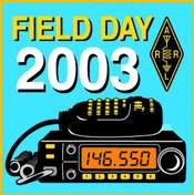 Field Day 2003 Pin