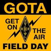 GOTA/Field Day Pin