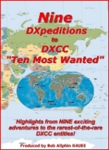 Nine DXpeditions to DXCC (DVD)