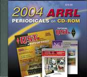 ARRL Periodicals CD-ROM 2004