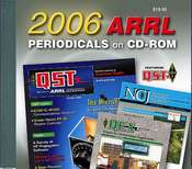 ARRL Periodicals CD-ROM 2006