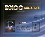 DXCC Challenge Plaque