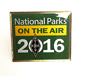 National Parks on the Air Pin