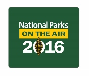 National Parks on the Air Cling Sticker