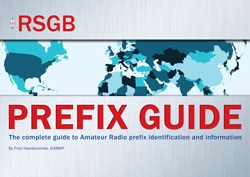 RSGB Prefix Guide 13th Edition
