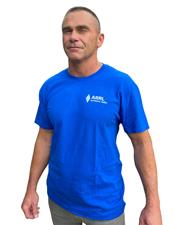 ARRL T-Shirt Neon Blue