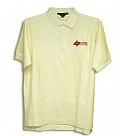 Men's Yellow Polo (Barker Specialty)