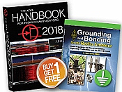 ARRL Handbook 2018 (hardcover) & Grounding and Bonding