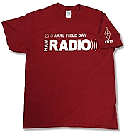 Field Day Shirt Cardinal Red (2015)