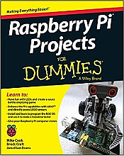 Raspberry Pi Projects for Dummies (Wiley)
