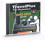 TravelPlus for Repeaters CD-ROM 2012-2013 Edition