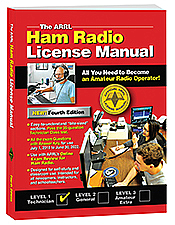 ARRL Ham Radio License Manual 4th Edition (Softcover)