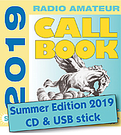 Radio Amateur Callbook CD-ROM (Summer 2019)