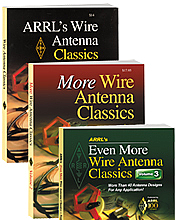 ARRL's Wire Antenna Classics Volume 1, 2, and 3