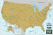 National Parks on the Air Map