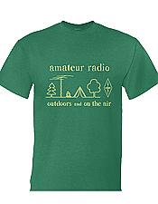 Ham Radio Camping T-Shirt