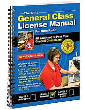 ARRL General Class License Manual Spiral Bound