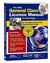 The ARRL General Class License Manual with 1-year Membership