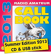 Radio Amateur Callbook CD-ROM (Summer 2013)