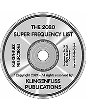 2020 Super Frequency List CD-ROM (Klingenfuss)
