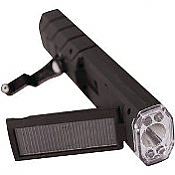 Solar Crank Flashlight