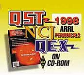 ARRL Periodicals CD-ROM 1998
