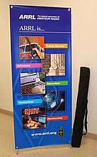 ARRL Five Pillars Banner Stand