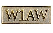W1AW Pin