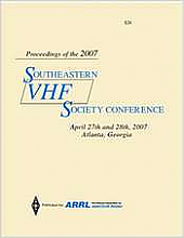 Southeastern VHF Society Conference 2007