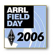 Field Day 2006 Pin