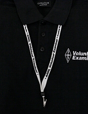 Volunteer Examiner ID Badge Lanyard
