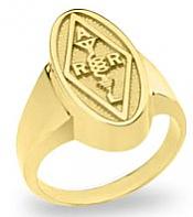 Ladies Long Oval Ring (Mastercraft Awards)