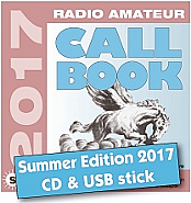 Radio Amateur Callbook CD-ROM (Summer 2017)